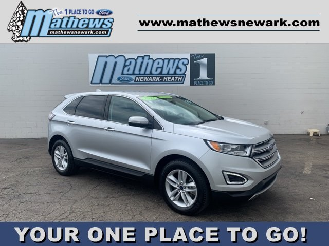 2017 Ingot Silver Metallic Ford Edge SEL 2.0 L 4-Cylinder Engine Automatic 4 Door AWD SUV