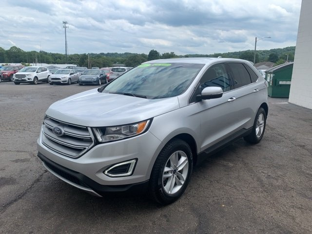 2017 Ford Edge SEL SUV 4 Door 2.0 L 4-Cylinder Engine