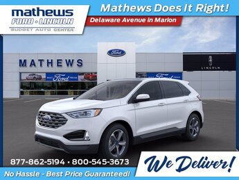2020 Ford Edge SEL 4 Door Automatic AWD EcoBoost 2.0L I4 GTDi DOHC Turbocharged VCT Engine SUV