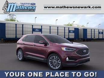 2020 Ford Edge Titanium 2.0 L 4-Cylinder Engine SUV AWD