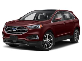 2020 Ford Edge Titanium 4 Door 2.0 L 4-Cylinder Engine Automatic