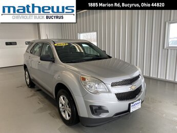 2013 Chevrolet Equinox LS 4 Door 2.4L DOHC 4-Cyl SIDI Spark Ignition DI Engine FWD Automatic