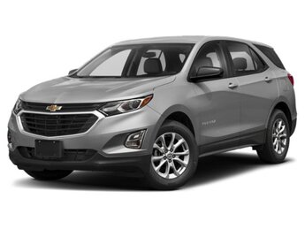 2019 Chevrolet Equinox LS 1.5L Turbo DOHC 4-Cyl SIDI VVT Engine 4 Door FWD Automatic