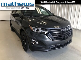 2021 Nightfall Gray Metallic Chevrolet Equinox LT 4 Door 1.5L Turbo DOHC 4-Cyl SIDI VVT Engine SUV FWD