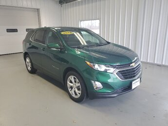 2018 Ivy Metallic Chevrolet Equinox LT Automatic 4 Door SUV