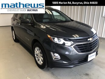 2018 Chevrolet Equinox LT 1.5L Turbo DOHC 4-Cyl SIDI VVT Engine AWD Automatic 4 Door SUV