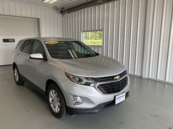 2020 Silver Ice Metallic Chevrolet Equinox LT 1.5L Turbo DOHC 4-Cyl SIDI VVT Engine SUV Automatic AWD 4 Door
