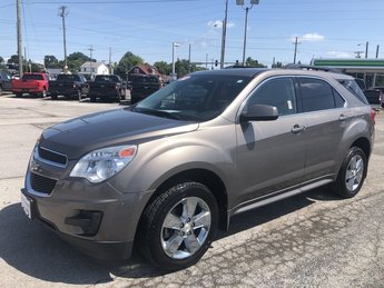 2012 Mocha Steel Metallic Chevrolet Equinox LT w/1LT 4 Door Automatic FWD