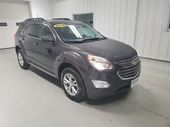 2016 Tungsten Metallic Chevrolet Equinox LT 2.4L DOHC 4-Cyl SIDI Spark Ignition DI Engine 4 Door Automatic AWD SUV