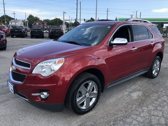 2015 Chevy Equinox LTZ 4 Door AWD SUV Automatic 3.6L DOHC V6 SIDI Spark Ignition DI Engine