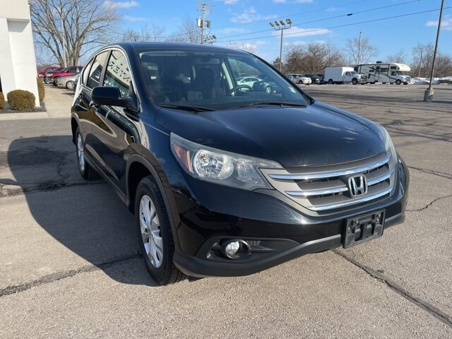 2013 Crystal Black Pearl Honda CR-V EX SUV AWD 4 Door 2.4L I4 DOHC 16V i-VTEC Engine