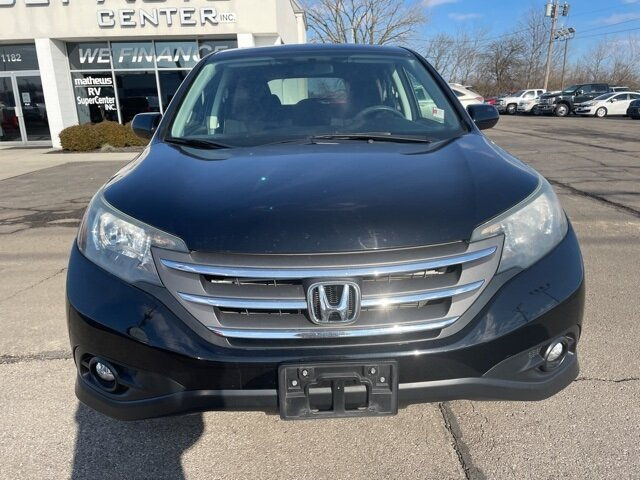 2013 Crystal Black Pearl Honda CR-V EX 4 Door 2.4L I4 DOHC 16V i-VTEC Engine AWD Automatic SUV