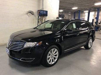 2019 Infinite Black Metallic Lincoln MKT Standard SUV AWD 4 Door Automatic