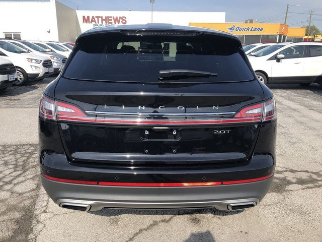 2019 Lincoln Nautilus Select 2.0L 4-Cyl Engine FWD SUV 4 Door