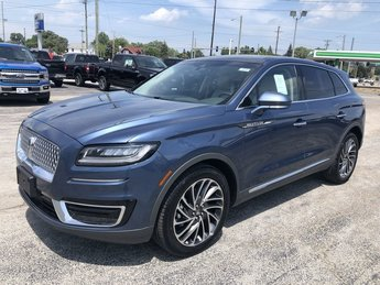 2019 Blue Diamond Metallic Lincoln Nautilus Reserve 2.7L V6 Cylinder Engine SUV FWD 4 Door