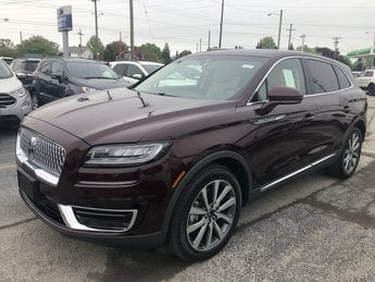 2019 Lincoln Nautilus Select SUV 4 Door AWD