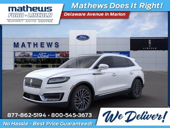 2020 Pristine White Lincoln Nautilus Reserve SUV Automatic 4 Door AWD 2.0L Turbocharged Engine