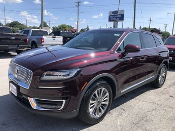 2019 Lincoln Nautilus Select 2.0L 4-Cyl Engine AWD 4 Door