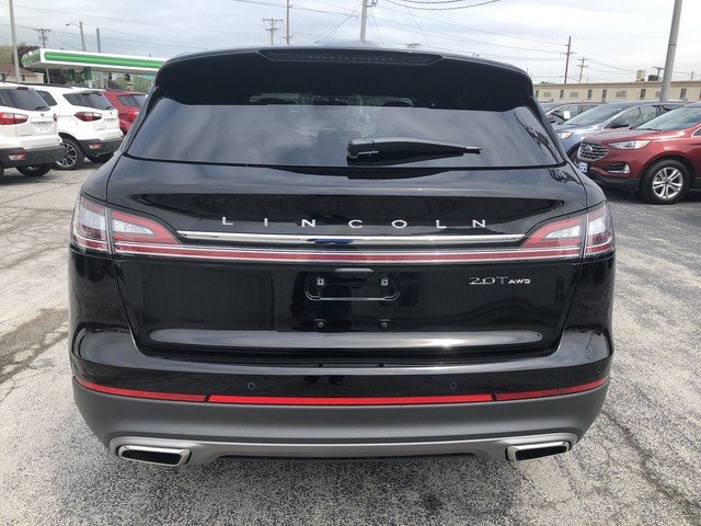 2019 Infinite Black Metallic Lincoln Nautilus Select AWD 2.0L 4-Cyl Engine 4 Door