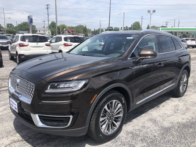 2019 Ochre Brown Metallic Lincoln Nautilus Select SUV 4 Door AWD