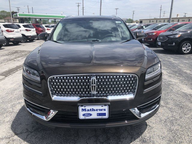 2019 Ochre Brown Metallic Lincoln Nautilus Select 4 Door AWD 2.0L 4-Cyl Engine SUV