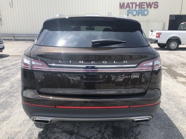 2019 Ochre Brown Metallic Lincoln Nautilus Select 2.0L 4-Cyl Engine 4 Door AWD