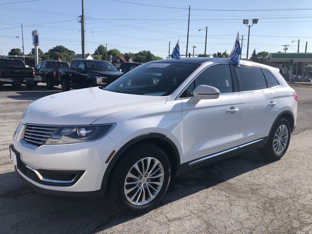 2016 White Platinum Metallic Tri-Coat Lincoln MKX Select 4 Door Automatic AWD SUV 3.7L V6 Ti-VCT Engine