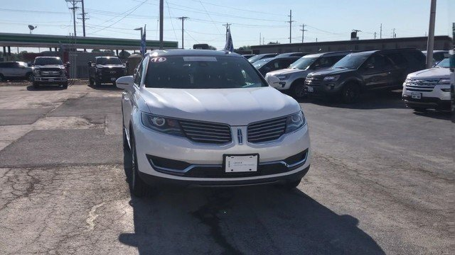 2016 White Platinum Metallic Tri-Coat Lincoln MKX Select 3.7L V6 Ti-VCT Engine Automatic 4 Door AWD