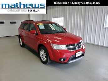 2015 Redline 2 Coat Pearl Dodge Journey SXT Automatic 4 Door 3.6L V6 24v VVT Engine AWD