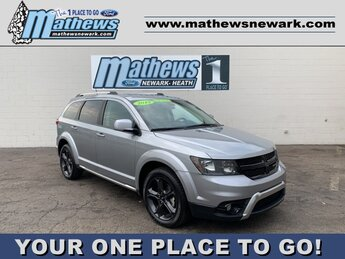 2019 Billet Clearcoat Dodge Journey Crossroad 4 Door SUV 3.6 L 6-Cylinder Engine