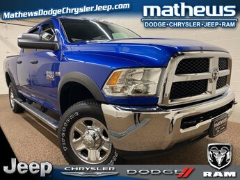 2018 Blue Streak Pearlcoat Ram 2500 Tradesman 4 Door 4X4 6.4L Heavy Duty V8 HEMI w/MDS Engine