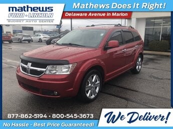 2009 Inferno Red Crystal PC/Mineral Gray Met CC Dodge Journey R/T Automatic 4 Door SUV 3.5L V6 MPI 24V High-Output Engine AWD