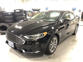 2019 Agate Black Ford Fusion SEL 1.5L 4-Cyl Engine 4 Door FWD Sedan Automatic
