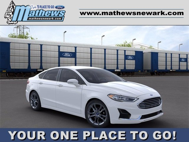 2020 OXFORD_WHITE Ford Fusion SEL 1.5 L 4-Cylinder Engine 4 Door Automatic Sedan