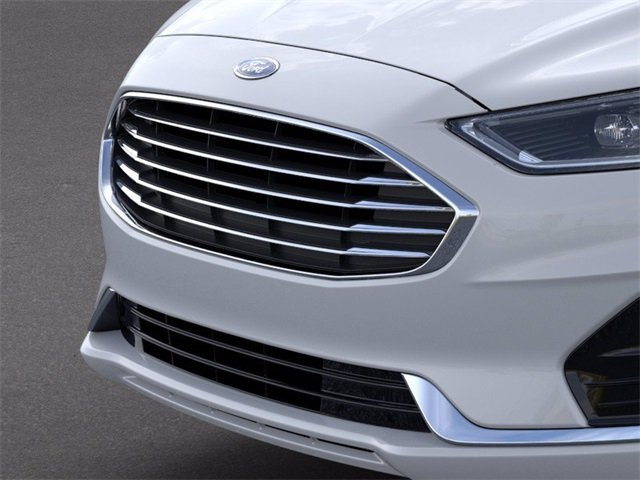 2020 OXFORD_WHITE Ford Fusion SEL 4 Door FWD Sedan