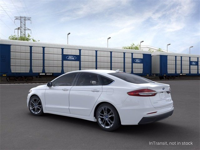2020 OXFORD_WHITE Ford Fusion SEL FWD 1.5 L 4-Cylinder Engine Sedan Automatic