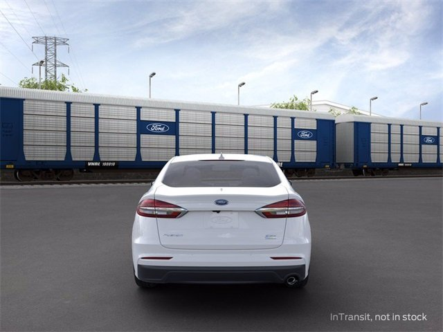 2020 OXFORD_WHITE Ford Fusion SEL 4 Door FWD Automatic Sedan