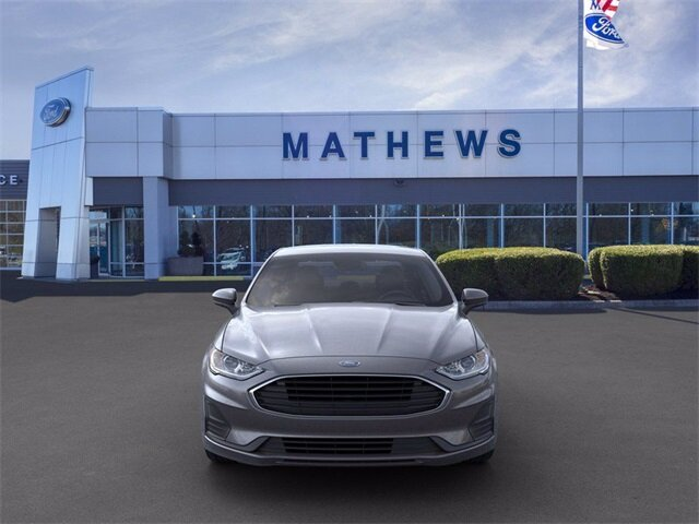 2020 Magnetic Metallic Ford Fusion S Sedan 4 Door Automatic FWD 2.5 L 4-Cylinder Engine
