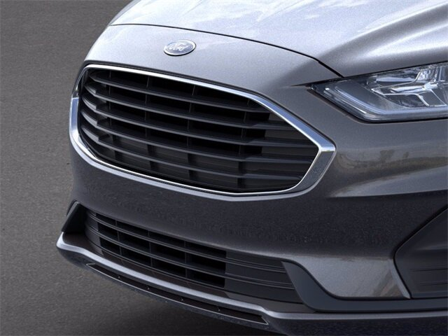 2020 Magnetic Metallic Ford Fusion S 2.5 L 4-Cylinder Engine Sedan 4 Door