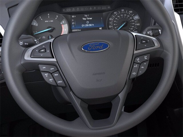 2020 Magnetic Metallic Ford Fusion S 4 Door 2.5 L 4-Cylinder Engine Automatic