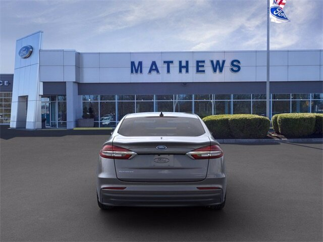 2020 Magnetic Metallic Ford Fusion S Sedan FWD Automatic