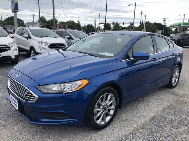 2017 Ford Fusion SE FWD 4 Door Sedan Automatic 2.5L IVCT Engine