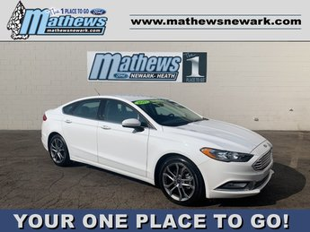 2017 Ford Fusion SE 4 Door FWD Automatic 2.5 L 4-Cylinder Engine