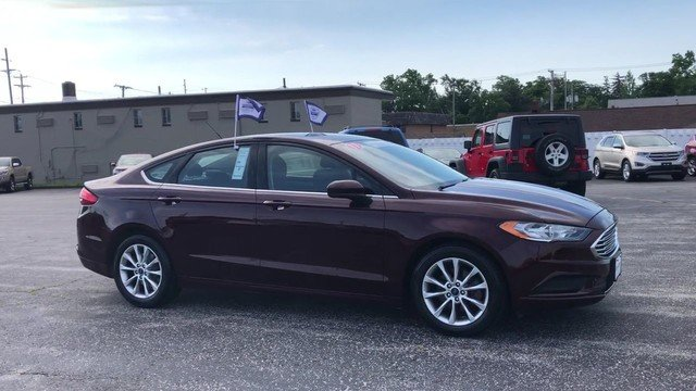 2017 Ford Fusion SE FWD 2.5L IVCT Engine Automatic