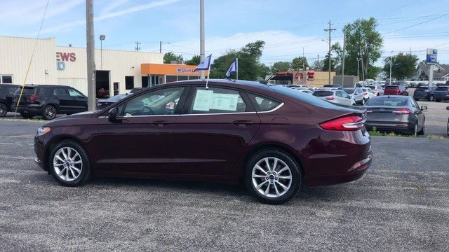 2017 Ford Fusion SE FWD 4 Door 2.5L IVCT Engine Automatic