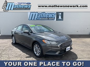 2017 Ford Fusion SE FWD 4 Door 2.5 L 4-Cylinder Engine