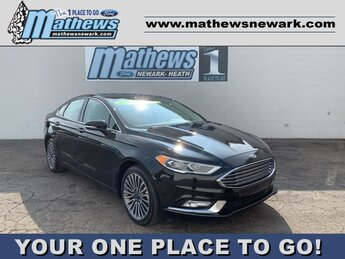 2017 Ford Fusion SE Car FWD Automatic