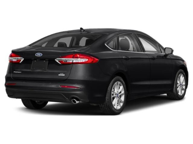 2020 Agate Black Metallic Ford Fusion SE 4 Door Automatic FWD 1.5 L 4-Cylinder Engine
