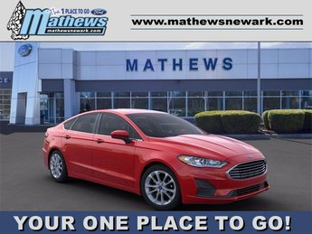 2020 Ford Fusion SE 4 Door FWD Automatic 1.5 L 4-Cylinder Engine Sedan