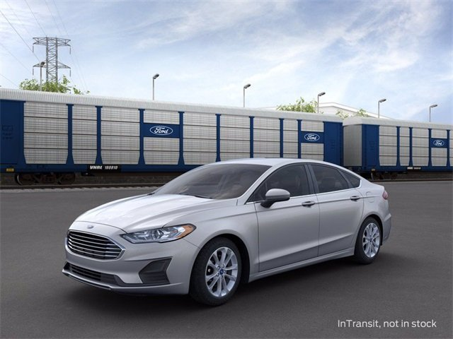 2020 Iconic Silver Metallic Ford Fusion SE Automatic 1.5 L 4-Cylinder Engine 4 Door FWD